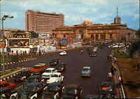 EGYPT Ägypten Postkarte CAIRO El-Tahrir Square, Car Cars, Traffic Verkehr Autos