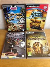 Hidden Object Adventure Mystery 4 Game Bundle PC CD-ROM