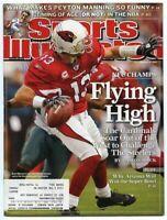 SI: Sports Illustrated January 26, 2009 Flying High: Kurt Warner, Cardinals, G