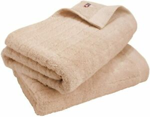 Premium Soft Cotton Bath Towel 2 Pack Set Absorbent Hiorie Imabari Japan 9 Color