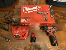 Milwaukee M12 1/4 inch Cordless Hex Screwdriver