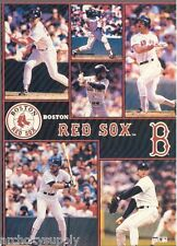 MONSTER POSTER: MLB BASEBALL: BOSTON RED SOX - 6 STARS - #PW-SLMP-RED  RAP116 B