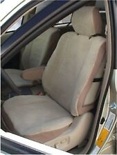 DURAFIT Front Seat Covers 2001 2002 2003 Toyota Highlander Taupe brown/grey