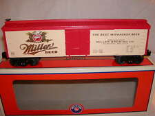 Lionel 6-83657 Miller Beer Brewing Co Wood Sided Reefer O 027 2016 Brand New
