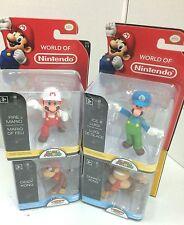 """Nintendo Super Mario Bros 2.5"""" Action Figure Set (Diddy, Donkey, Mario + Luigi)"""