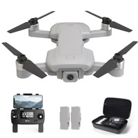 Holy Stone HS510 GPS Brushless Drone 4K Wifi Camera Quadcopter 2 Batteries +Case
