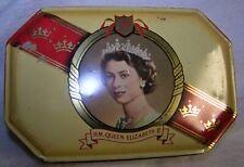 Queen Elizabeth II Coronation Tin 1953 Harry Vincent Ltd Vintage Metal