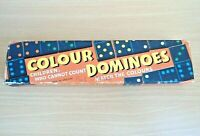 Vintage Spear's Games Colour Dominoes - Match The Colours - Made In England