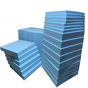 BLUE High Density Firm Foam for replacement, caravan camper mattress seat pad