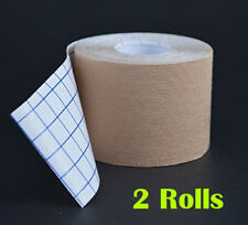 Therapeutic Kinesiology Tape, Two (2) Premium Synthetic Uncut Rolls