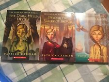 Land of Elyon Series by Patrick Carman Books 1-3 Dark Hills Divide Tenth City