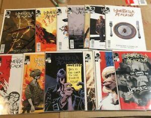 UMBRELLA  ACADEMY LOT 2 SETS DALLAS & HOTEL OBLIVION 1st Prints 13 COMICS VF/NM