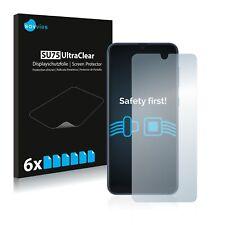 6x Samsung Galaxy A40 Displayschutzfolie Klar Transparent Schutzfolie