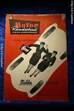 Motor Rundschau 18/56 (M) Mercedes Benz 190 Maicoletta 250  Juan Manuel Fangio