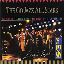 Ben Sidran / Go Jazz All Stars Live Japan (1992, & Georgie Fame, Bob Mala.. [CD]