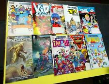 Huge Collection of Free Comic Day Comic Books-All are Nice Condition 10pcs