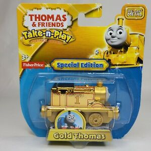 Fisher-Price Thomas & Friends Take N Play Special Edition Gold Thomas