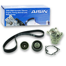 AISIN Timing Belt Kit w/ Water Pump for 2000-2006 Hyundai Tiburon 2.0L L4 - zn