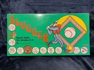Slugger Sports Math Game Grades 5-9 STEM Learning Education Home School NEW