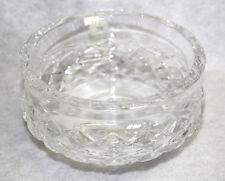 WATERFORD CRYSTAL 5.5 INCH FOOTED BOWL IN ORIGINAL BOX /  PACKAGING