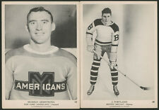 1939 1939-40 1940 V301-1 O-PEE-CHEE HOCKEY CARDS #19 #40 AMERICANS, BRUINS