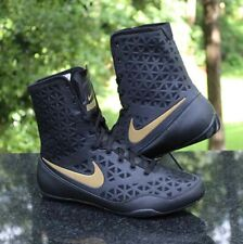 Nike Ko Boxing Shoes Men's Size 14 Black Gold 839421-001