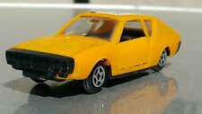 VINTAGE NOREV RENAULT 17 TS COUPE TOY 1971 MADE IN  FRANCE 1/43 N 168 YELLOW