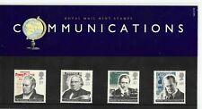 1995 GB QE2 COMMEMORATIVE STAMP PRESENTATION PACK NO 260 COMMUNICATIONS