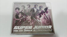 SUPER JUNIOR THE 1ST SINGLE BONAMANA CD + DVD JAPAN EDITION DELUXE 2011 UNIQUE