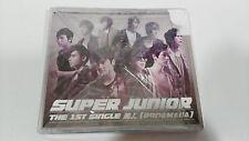 SUPER JUNIOR THE 1ST SINGLE BONAMANA CD + DVD JAPAN EDITION DELUXE 2011 UNIQUE