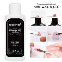 45ml Nail Liquid Slip Solution Acrylic Builder Poly Gel Nail Art Extended Tool