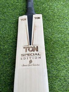 "TON ""Laser Engraved"" Special Edition Grade 1 English Willow Cricket Bat 2.9"