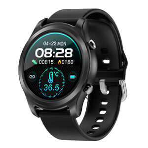 Smartwatch Armbanduhr Herzfrequenz Körpertemperatur Blutdruck Fitness Tracker
