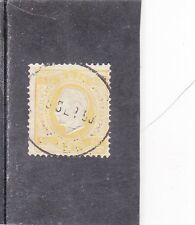 PORTUGAL D. LUIS I 80 REIS (1870/76) AF # 42 P. PORCELANA 12,5  Used