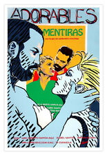 "Cuban decor Graphic Design movie Poster 4 film""LOVELY Lies""Cuba Chijona art"
