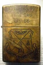VIETNAM VUNG TAU 65 - 66 VINTAGE - VIETNAM WAR ZIPPO LIGHTER