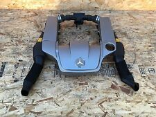 MERCEDES C32 SLK32 AMG AIR CLEANER BOX WITH ENGINE COVER SET OEM