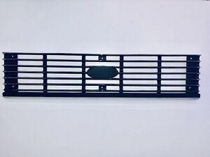 Front Grille to suit FORD LASER KA  03/1981-02/1983 - Chrome Painted