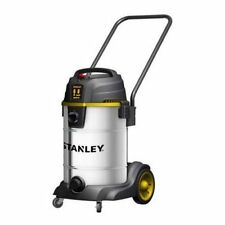 Stanley Horse Power Stainless Steel Wet Dry Vacuum Cleaner Stainless Steel New