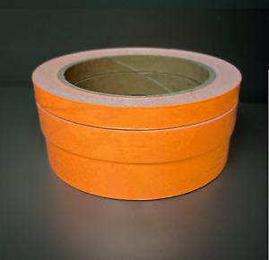 Orange Glow In The Dark Sticky Tape Self Adhesive Luminous Safety Sticker Roll