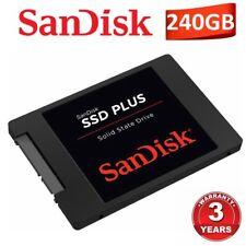 """SanDisk SSD Plus 240GB Internal Solid State Drive 7mm 2.5"""" SATA III SSD 530MB/s"""
