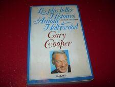 LES PLUS BELLES HISTOIRES D'AMOUR DE HOLLYWOOD  GARY COOPER 1981 N. CHARDAIR
