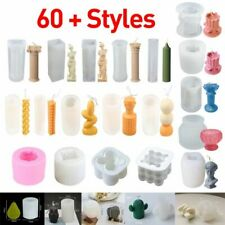 3D DIY Crafts Making Candles Mould Silicone/ Acrylic Mold Soap/Cake/Baking Decor
