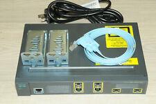 Cisco ME-3400G-2CS-A 3400G Ethernet Access Switch METROIPACCESS IOS w/ Racks