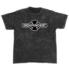 Independent Trucks Ogbc Logo Skateboard Shirt Mineral Black Medium