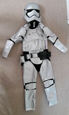Boys Star Wars Storm Trooper Silver Dressing Up Costume Age 9-10 yr Disney Store