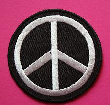 Peace Logo Aufnäher / patch Frieden No war Anti dove Punk Emo Rockabilly pace