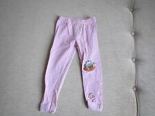 Leggings Hose Gr. 92 in rosa mit Spitze unten von s.Oliver