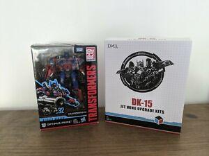 Studio series Optimus Prime N° 32 and Jet Wing Upgrade Kits DK-15