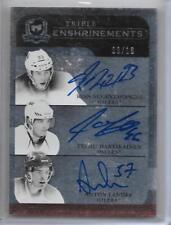 11-12 UD THE CUP TRIPLE ENSHRINEMENTS NUGENT-HOPKINS HARTIKAINEN LANDER RC AU/10